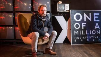 «One of a Million»- Festivalgründer Nik Fischer: «Wir hatten dieses Jahr Leute von grösseren Agenturen aus Deutschland, London und Paris vor Ort.» Jiri Reiner/Archiv