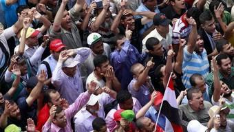 Zehntausende folgten dem Aufruf der Muslimbrüder