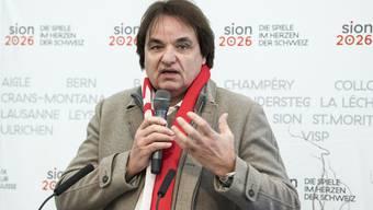 Will bei Sion 2026 eine Rolle spielen Christian Constantin.