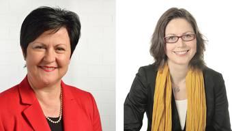 Steigen sie 2017 ins Rennen? Marianne Meister (53, l.) und Anita Panzer (45)