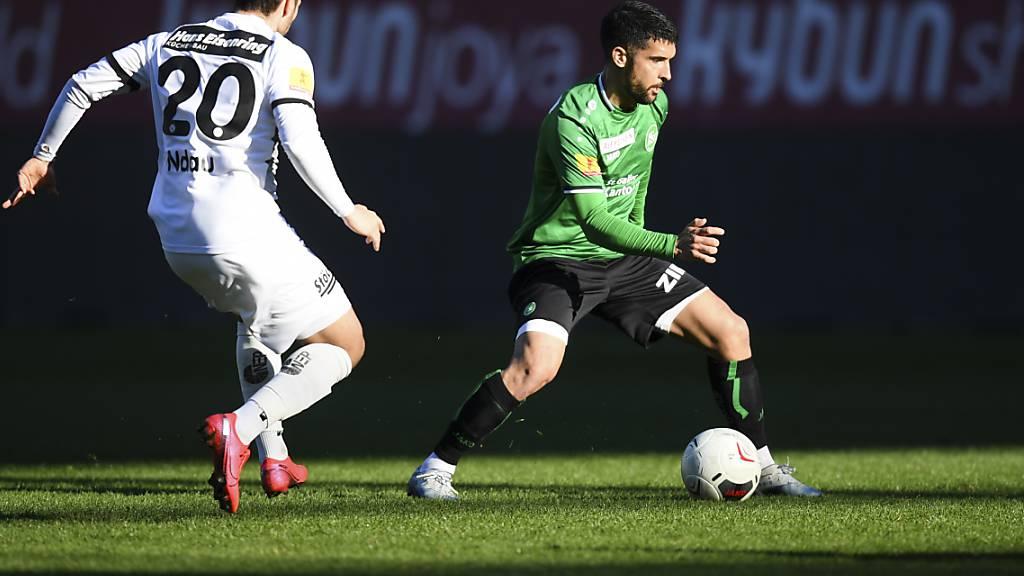 Der FC St. Gallen bindet Victor Ruiz bis Sommer 2023