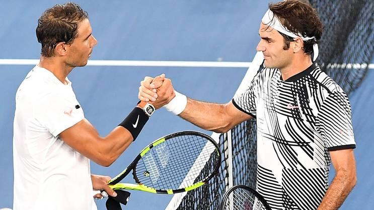 Roger Federer und Rafael Nadal könnten im Final der US Open aufeinander treffen