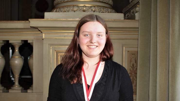 Bronze sicherte sich die Badener Kantischülerin Simone Heimgartner aus Fislisbach.