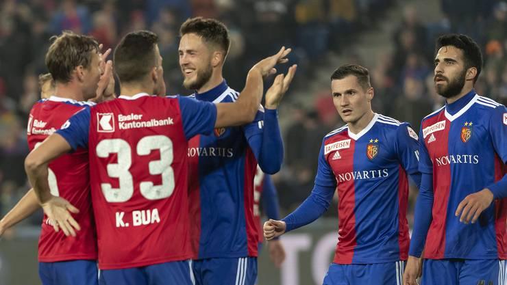 Spieler wie Kevin Bua oder Ricky van Wolfswinkel gehören zu den Besten der FCB-Hinrunde.