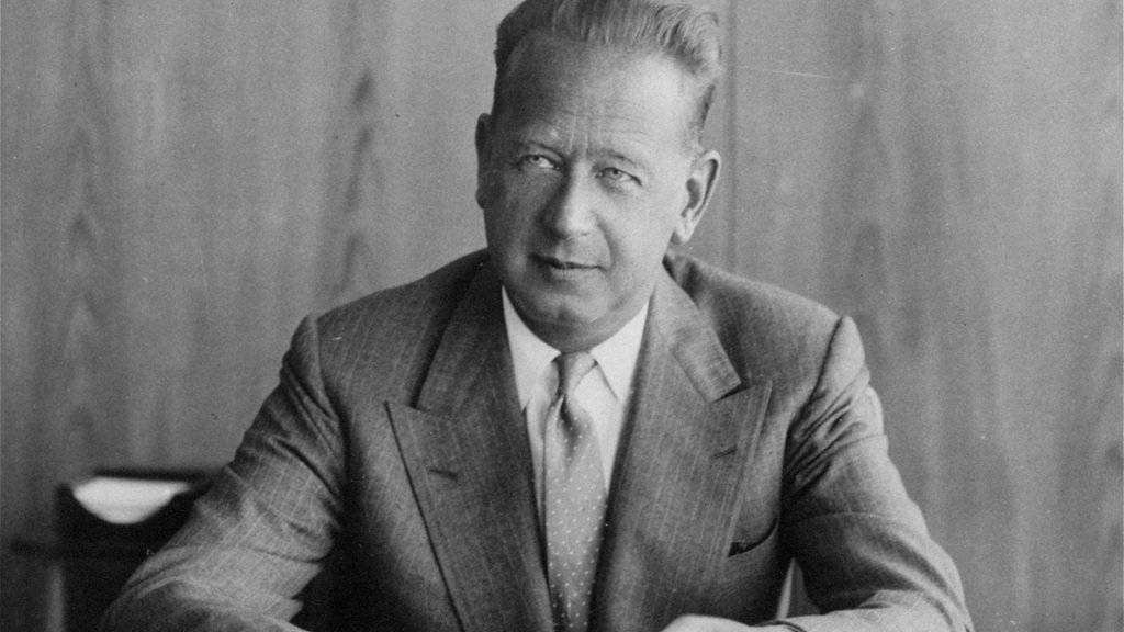 Foto von Dag Hammarskjold aus 1959: Seine Maschine stürzte in Sambia ab, die Ursache ist bis heute ungeklärt.