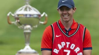 Rory McIlroys kindliche Freude nach dem Sieg in Kanada
