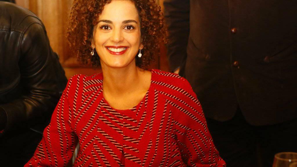 Leila Slimani im Restaurant «Chez Drouant», nachdem sie am Donnerstag den Prix Goncourt 2016 zugesprochen erhalten hat.