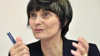 Bundesrätin Micheline Calmy-Rey verlangt langfristige Hilfe für die Hungernden in Afrika