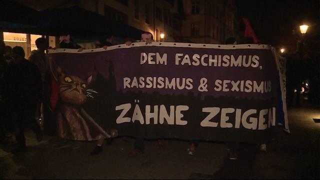 Gegen Sexismus, Rassismus und Faschismus