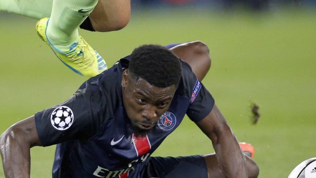 PSG-Verteidiger Serge Aurier sorgte einmal mehr abseits des Fussballplatzes für Schlagzeilen