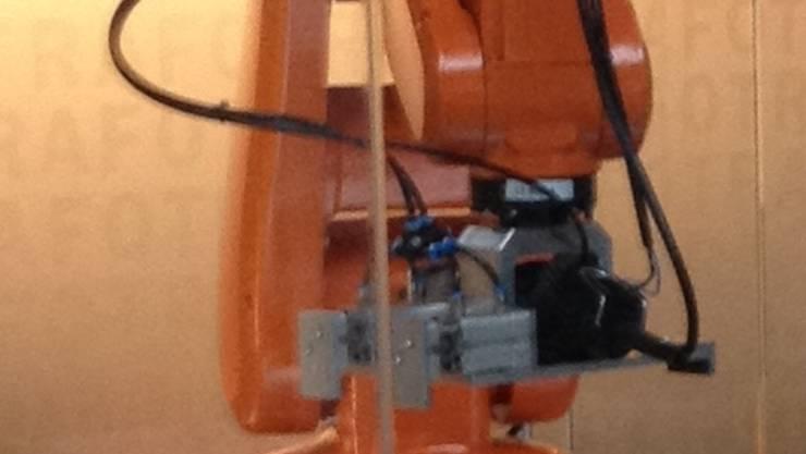 Stiller Star: Der ABB-Roboter.