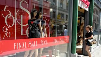Im Orsay in der Freien Strassen hat der Ausverkauf seinen Tiefpunkt erreichet.