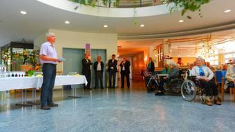 Startschuss Erweiterungsbau Alters- und Pflegeheim Ischimatt