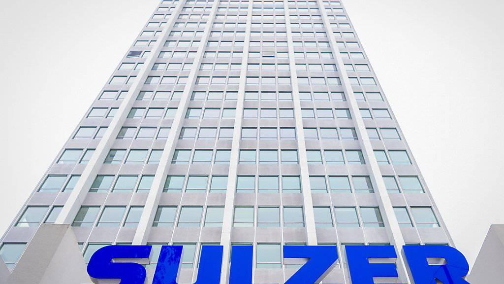 Sulzer erhält im ersten Quartal deutlich mehr Bestellungen