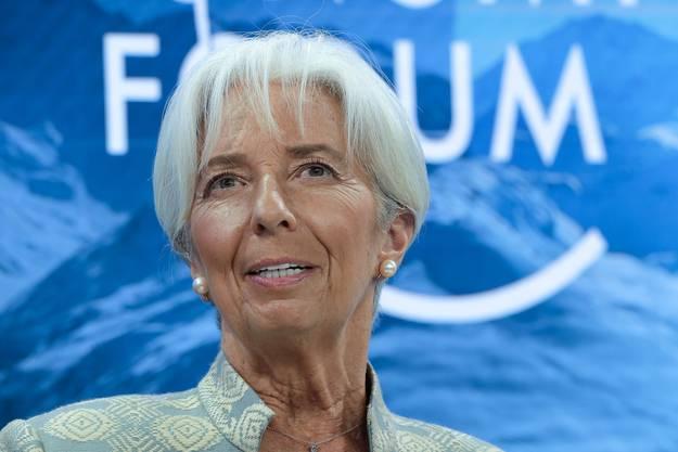 Sie wäre die erste Frau an der Spitze der EZB: Die Französin Christine Lagarde.