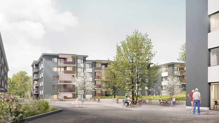 Auf dem Gebiet Lanzrain, zwischen der Zürcherstrasse und der Rebbergstrasse sollen neue Wohnungen entstehen.