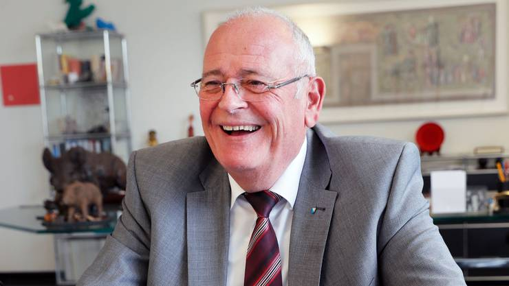 Der Niederglatter Markus Kägi blickt zufrieden auf seine Amtszeit zurück.