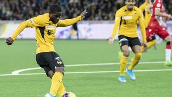 Roger Assalé trifft im Berner Derby gegen Thun doppelt