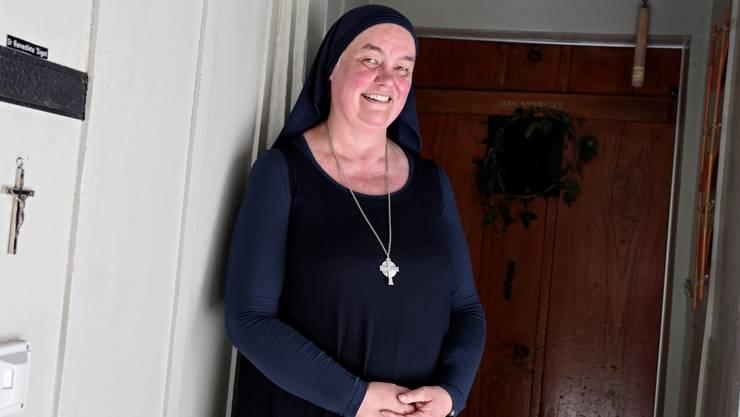 Schwester Benedikta zeigt Anzeichen auf Schluchtmüdigkeit