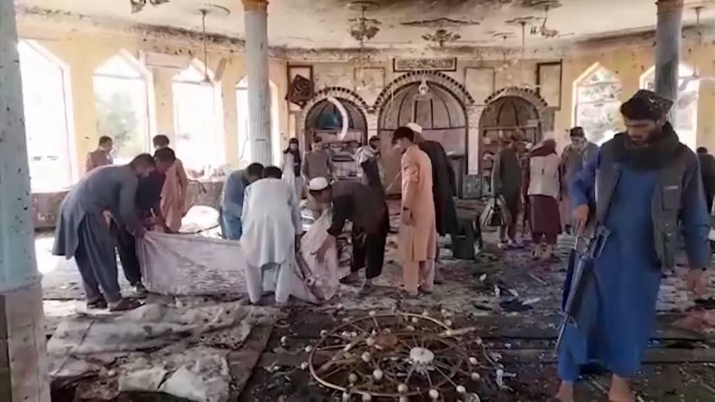 Heftige Explosion in Moschee: Mindestens 20 Tote und viele Verletzte in Afghanistan