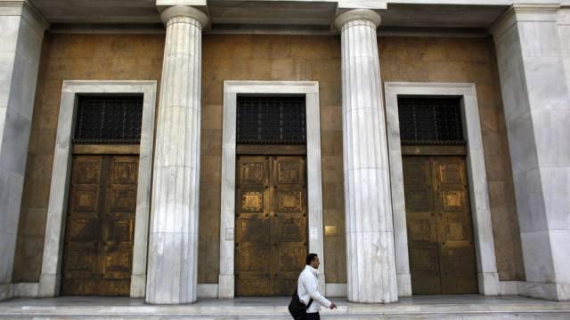 Die griechische Zentralbank (Symbolbild)