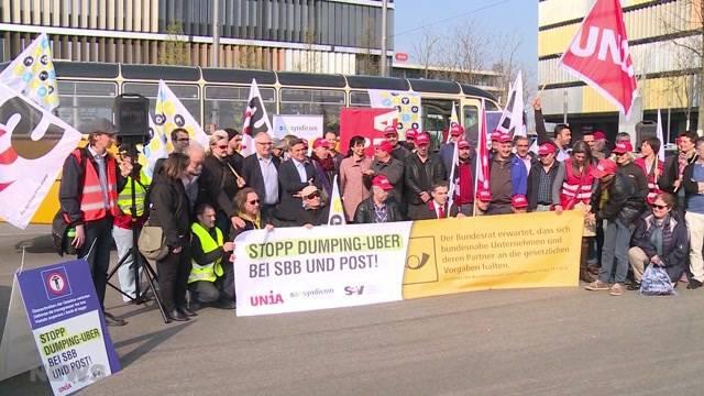 SBB und Post treiben Gewerkschaften zur Weissglut