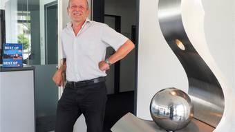 Hansjörg Steiner, Gunzgens Gemeindeverwalter, ist seit dem 1. Juni im Vorruhestand. Bruno Kissling