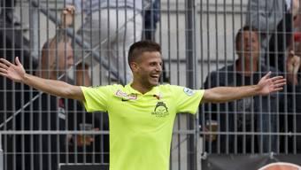 Antonio Marchesano will in einem Jahr für den FCZ jubeln