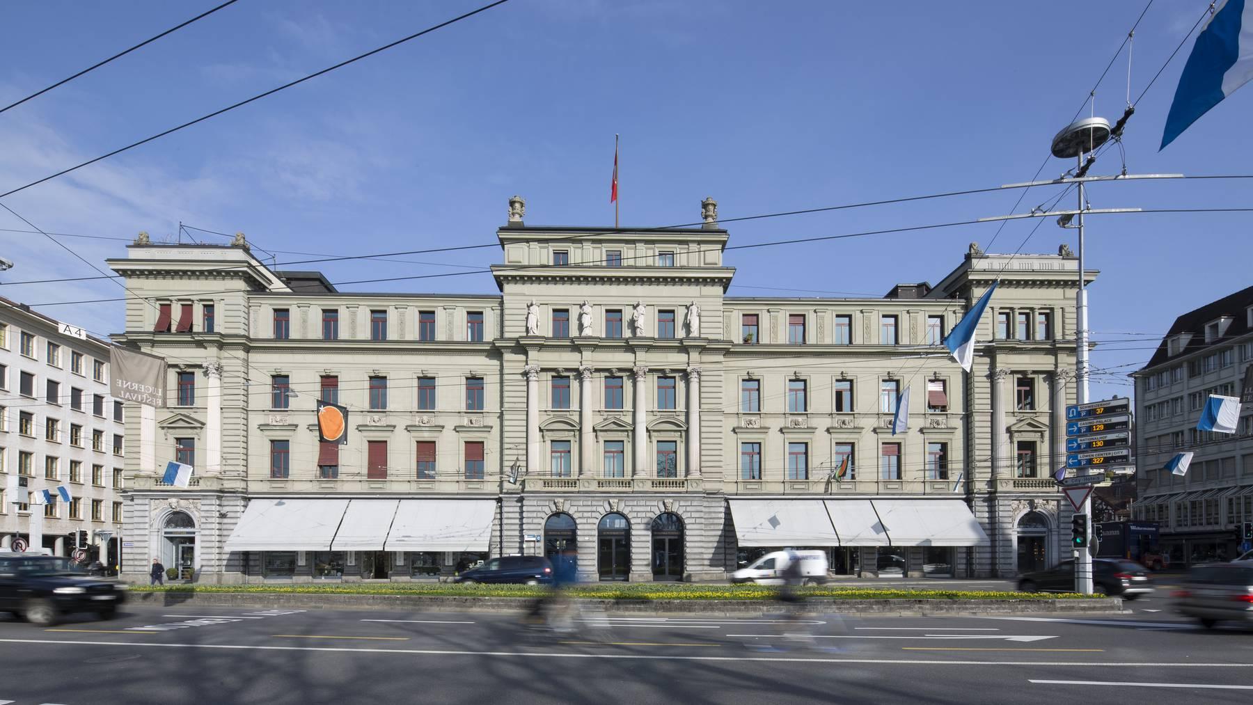 Die sozialrechtliche Abteilung des Bundesgerichts in der Stadt Luzern. (Archivbild)