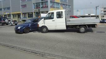 Beide Fahrer gaben an, an der Ampel Grün gehabt zu haben.