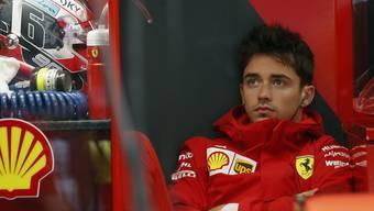 Charles Leclerc fuhr zum Auftakt des Heimrennens von Ferrari die beste Rundenzeit