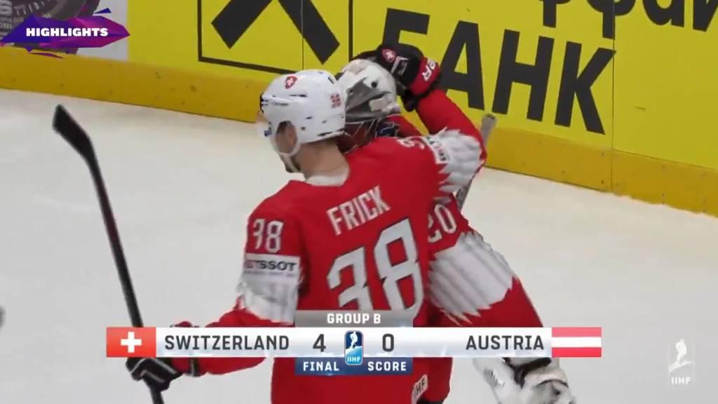 Schweiz gewinnt auch gegen Österreich