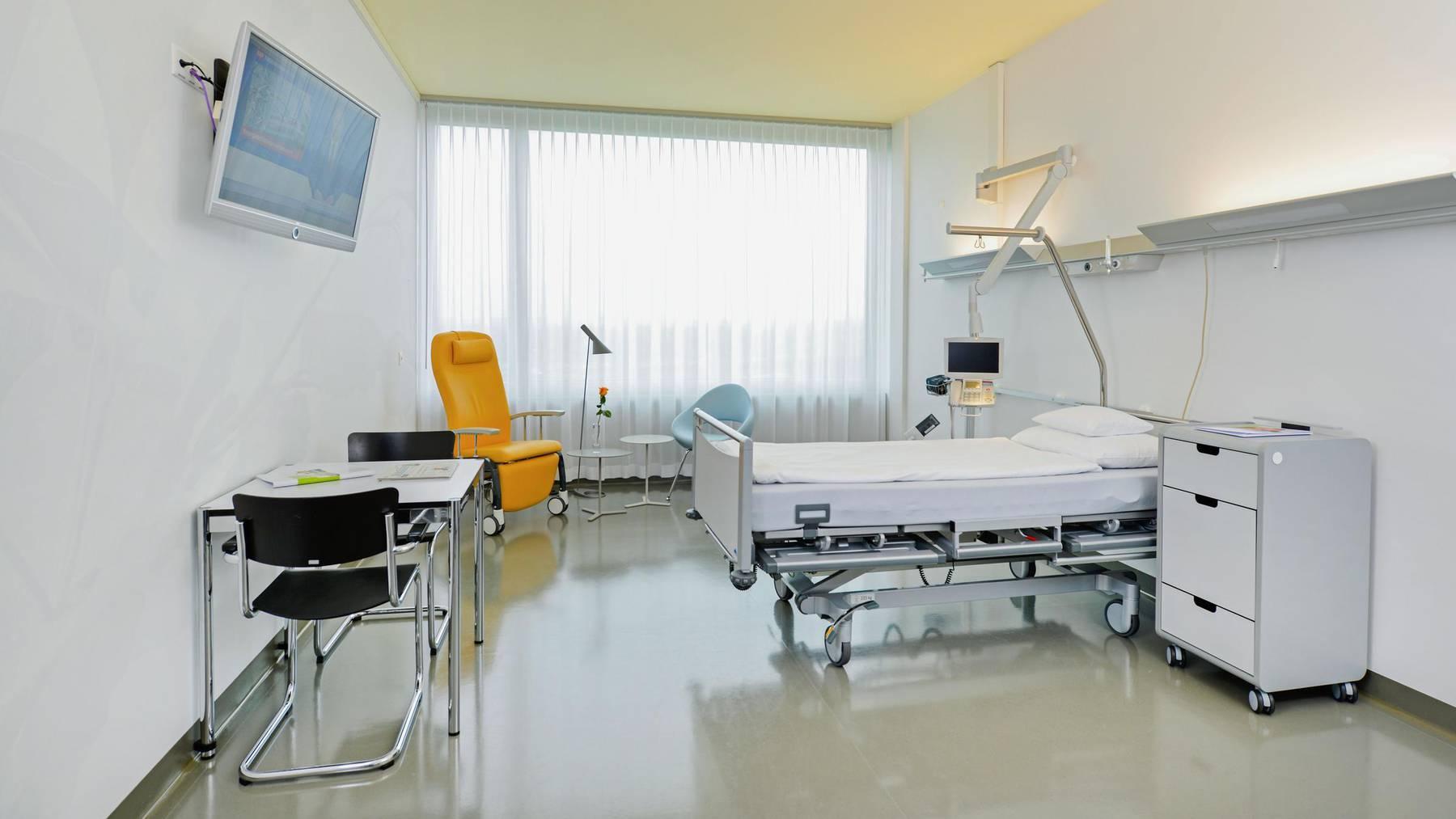 Auch das Zuger Kantonsspital ist von Kurzarbeit betroffen.