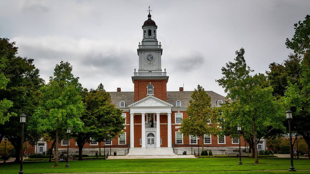 Die Johns-Hopkins-Universität.