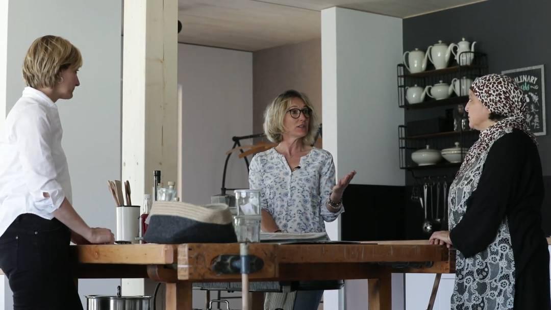 """Susanne Hochuli lanciert das Projekt """"Weltweit essen"""""""