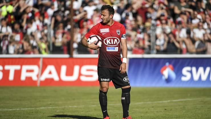 Der FC Aarau verliert gegen Xamax nach Penaltyschiessen.