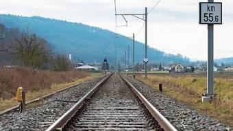 Auf der Rheintallinie – im Bild bei Leibstadt – verkehren schon lange keine Personenzüge mehr.