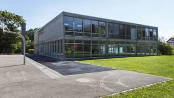 Das Schulhaus Wildbach in Rüttenen