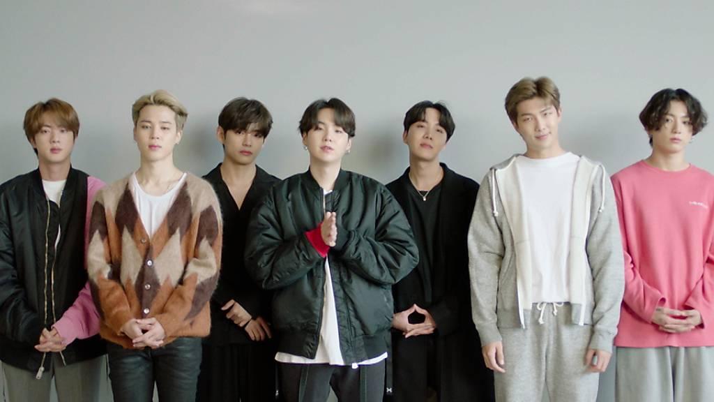 Boygroup BTS grösster Gewinner bei MTV Europe Music Awards