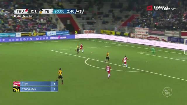 Thun - YB / GC - Lugano / St. Gallen - FCZ