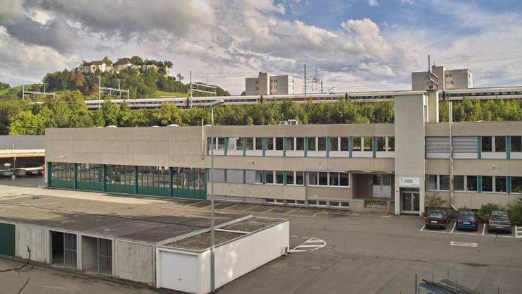 Der Sitz der SWL Energie AG in Lenzburg. (Archiv)