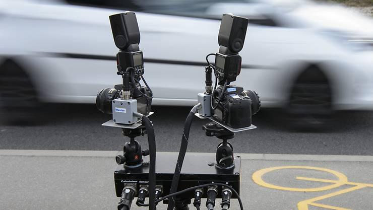 Die Regionalpolizei Oberes Fricktal führte am 31. Januar eine Geschwindigkeitskontrolle in Eiken durch. (Symbolbild)