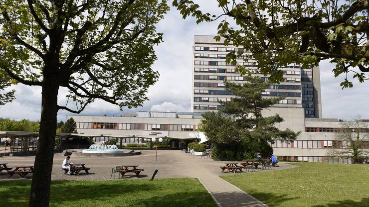Das Kantonsspital Baselland. Hier im Bild: Das Bruderholz