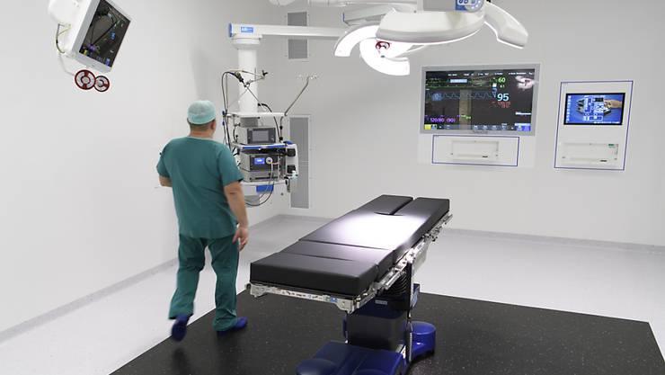 Die 16 neuen Operationssäle am Universitätsspital in Lausanne sind nach den modernsten Standards eingerichtet.