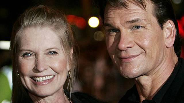 Lisa Niemi mit Ehemann Patrick Swayze (Archiv)
