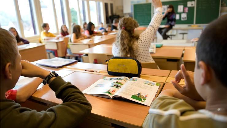 Hägendorfer Primarschüler hätten nach der Fusion nach Rickenbach in die Schule müssen. Das wollten die Stimmbürger nicht. (Themenbild)