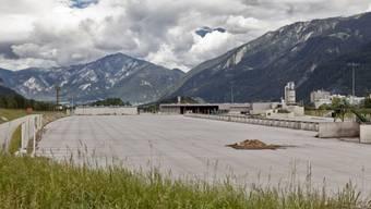 Das Areal der in Konkurs gegangenen Sägerei Mayr-Melnhof (Archiv)