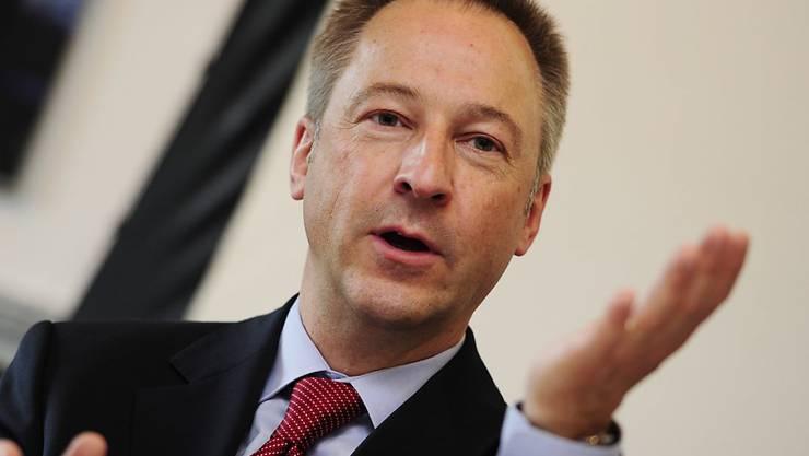 """Alpiq-Verwaltungsratspräsident Jens Alder: """"Wir können keine Hochrisikostrategie fahren""""."""
