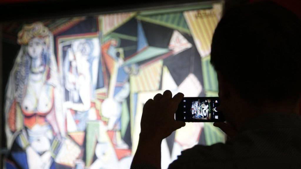 """Im Mai 2015 wechselte das Bild """"Les femmes d'Alger"""" von Pablo Picasso für 179 Millionen Dollar den Besitzer - eine Ausnahme im schrumpfenden Kunstmarkt (Archiv)."""