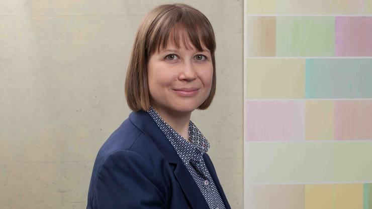 Janine Sommer, per 2019 Präsidentin der Stiftung Frauenhaus Aargau-Solothurn.